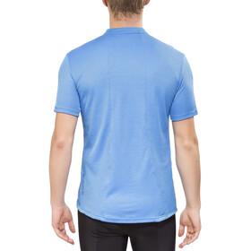 Endura Singletrack Merino Jersey Shortsleeve Men, blauw